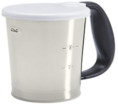 OXO Good Grips 3 Cup Stainless Steel Flour Sifter * Check out this great image  : Bakeware