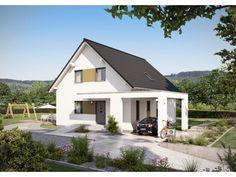 Innovation R - Haus R140_1_V33 - #Einfamilienhaus von RENSCH-HAUS GMBH   HausXXL #Fertighaus #Energiesparhaus #Nullenergiehaus #klassisch #Satteldach