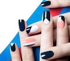 Nail art gráfica – As unhas das vez | Sutileza Feminina