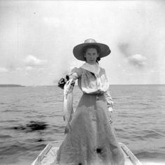 Lucie Fishing,1899-1900byAlexander Allison