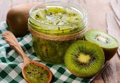 Marmeláda z kiwi recept Lunch Items, Slippery Elm, Detox Program, Cooking Together, Healthy, Ethnic Recipes, Radiation Therapy, Food Poisoning, Allergies
