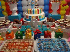 decoração de festa infantil tema pocoyo