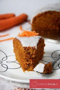 Ciasto marchewkowe - Po Prostu Pycha Polish Desserts, Polish Recipes, Sweet Recipes, Cake Recipes, Good Food, Yummy Food, Breakfast Menu, Carrot Cake, Food Design