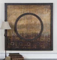 Uttermost Mink Stole Framed Art