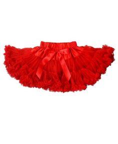 RuffleButts Red Pettiskirt   www.RuffleButts.com