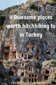 Turkey is a beautiful country that has lots to offer: history, culture, nature,...Here are 9 awesome places you shouldn't miss when hitchhiking/ traveling in Turkey!: