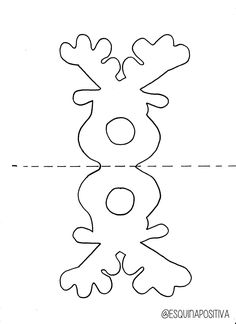 reindeer chupa chups template - Google Search