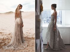 Leave A Little Sparkle Wherever You Go - 50 Ultra-Glam Sparkly Metallic Gowns