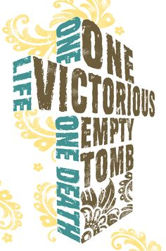 One Victorious Empty Tomb!