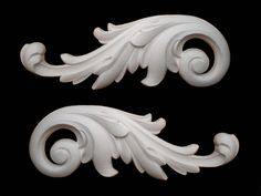 FRENCH ORNATE SCROLLS VERY LARGE DECORATIVE FURNITURE SILICONE MOULD