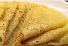 Постные блинчики: тонкие и очень вкусные Sugar Free Recipes, Free Food, Dairy Free, Food And Drink, Vegan, Cooking, Ethnic Recipes, Omelet, Chef Recipes