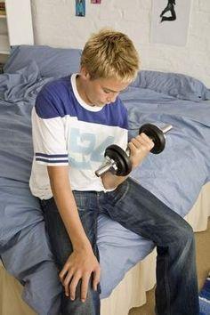 Strength training good for teens