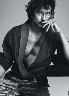Haider Ackermann is a Colombian designer of ready-to-wear fashion.