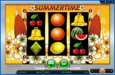 Summertime is a Merkur powered classic online slot. It has just 3 reels and 5 pay-lines, designed around the surfing style Hawaii theme. http://www.casinocashjourney.com/slots/merkur/summertime.htm