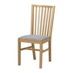 NORRNÄS Chair - oak/Isunda grey - IKEA