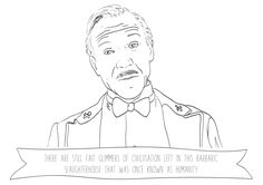 M Gustave - The Grand Budapest Hotel - A5 print by Phieillustrates on Etsy