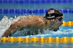 I will channel Michael Phelps tomorrow.