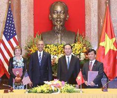 Những dấu ấn Vietjet trong chuyến thăm Việt Nam của Tổng thống Mỹ Barack Obama (P3)