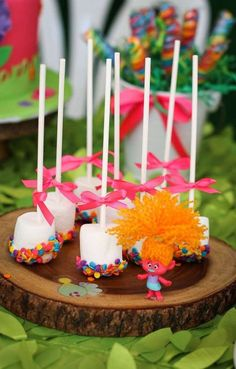 Trolls Birthday Party Ideas | Photo 1 of 13