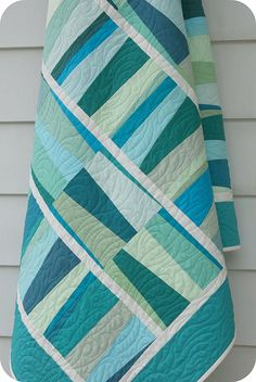 Escapade... Love the quilting and colors