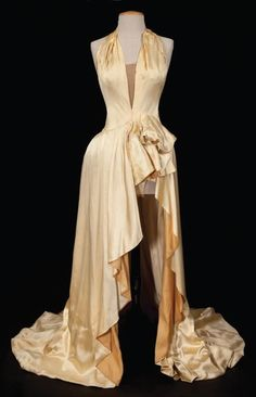 """From """"An American in Paris"""" (1951) worn by Nina Foch as Milo Roberts design by Orry-Kelly"""