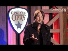 Keith Urban's full interview Backstage at the Opry