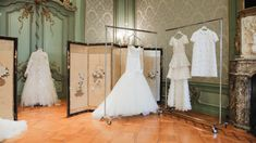 Inside Viktor & Rolf's Bridal Couture Amsterdam Atelier: Viktor & Rolf's wedding collection airs on the side of relatively affordable and seeks to modernize traditional bridal couture references. | Coveteur.com