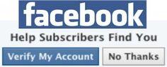 Facebook Verified Accounts