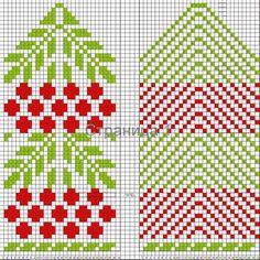 "Вязание. Жаккард - ""Зимняя радуга""'s photos Fingerless Gloves Knitted, Knit Mittens, Knitting Socks, Crochet Mittens Free Pattern, Crochet Chart, Wrist Warmers, Hand Warmers, Knitting Charts, Knitting Patterns Free"
