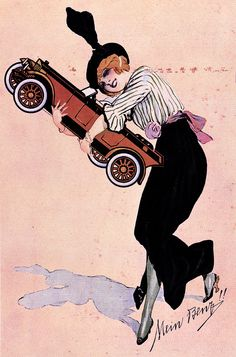 'Avoir sa Benz' by Daimler Benz France, 1913