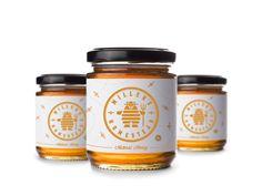 Millers Homestead Jar Label by Mike Bruner on Dribbble: https://dribbble.com/shots/1722109-Millers-Homestead-Jar-Label