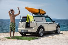 MINI's camping + expedition getaway car concepts. http://www.designboom.com/technology/minis-camping-expedition-getaway-car-concepts/.