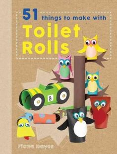 Crafty Makes is perfect for those with acreative, crafty streak eager to put their skillsto task on recyclable materials in the home. The first in the series, 51 Things to Make with Toilet Rolls , tra