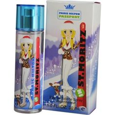 Paris Hilton Passport St Moritz By Paris Hilton Edt Spray 1 Oz