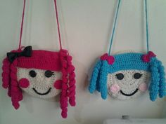 Lalaloopsy crochet handbags