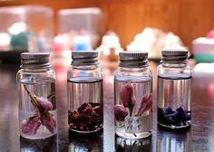 桜のバスオイル AEAJインストラクターコース|新潟 手作り石鹸の作り方教室 アロマセラピーのやさしい時間