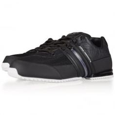 Adidas Y-3 Black Sprint Trainers. Available now at www.brother2brother.co.uk