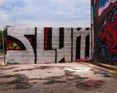 Fine Art Photograph  Graffiti Wall Art  8 x by Squintphotography