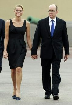 Prince albert and princess charlene of Monacco