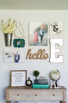 Living Room Gallery Wall Ideas • Everyday Ellis