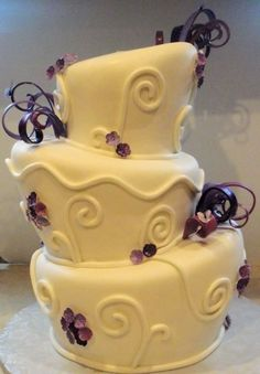 this topsy turvy cake has a Tim Burton feel to it... Maybe that can be another way to incorporate?