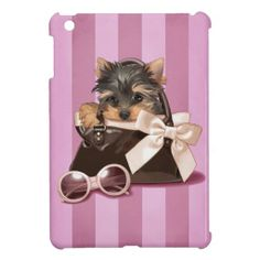Shop Yorkshire Terrier Puppy iPad Mini Case created by MarylineCazenave. Yorkies, Biewer Yorkie, Yorkie Puppy, Animals And Pets, Cute Animals, Yorkshire Terrier Puppies, Disney Fan Art, Cute Illustration, Dog Art