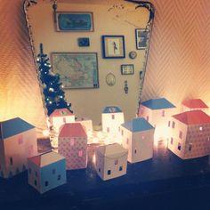 village de Noël à télécharger