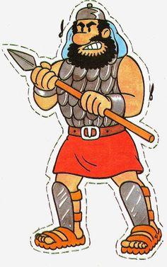 David y Goliat. Titeres 7