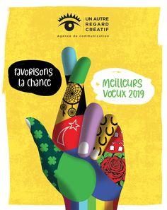 Un autre regard créatif vous présente ses meilleurs vœux 2019 France, Advertising Agency, Other, French