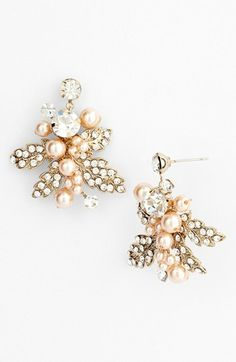 Nina Cluster Drop Earrings | Nordstrom