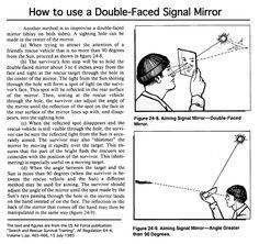 Survival mirror