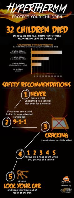 5 Quick Tips to Protect Your Children from Hyperthermia (heatstroke)