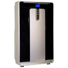 Haier Commercial Cool CPN12XH9 Portable Air Conditioner - Cooler, Heater - 12000 BTU/h Cooling Capacity - 11000 BTU/h Heating Capacity - Silver, Black   @@