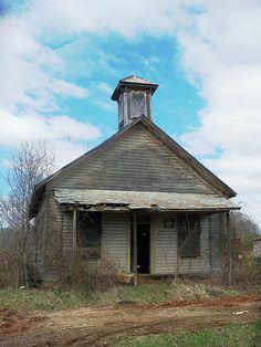 Old Ohio school house.